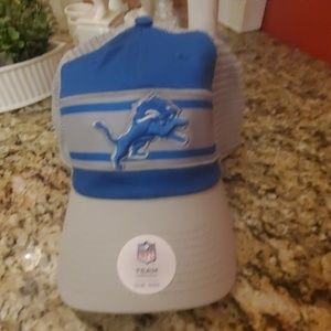 NFL Accessories - NFL DETROIT LIONS CAP NEW Adjustable NEW